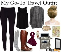 Go-To Travel Outfit that match my favorite Utility Hipzbag!