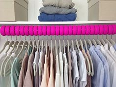Xangar Clothes Hanger Spacers  Closet Organizer System Pack of 50 Gray ** Check this awesome product by going to the link at the image.