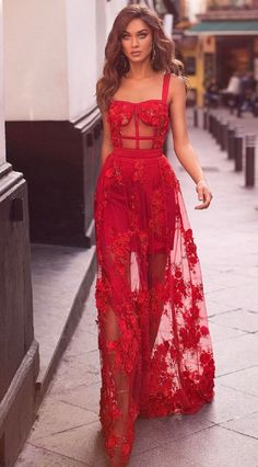 Sexy Evening Dress, Formal Evening Dresses, Red Evening Gowns, Dress Formal, Evening Party, Formal Wear, Gala Dresses, A Line Prom Dresses, Prom Gowns
