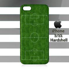Soccer Field Futbol Football iPhone 5 5s Case Cover Hardshell