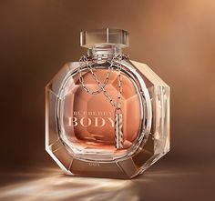 Burberry Body Crystal Baccarat  limited edition bottle. A lot of effort has gone into the presentation - pity more imagination did not go into the fragrance which I personally find somewhat insipid.