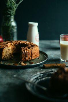 Spelt Apple Teacake with a Cinnamon Glaze (Souvlaki For The Soul)
