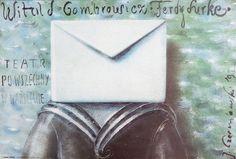 Ferdydurke, Gombrowicz, Polish Theater Poster