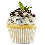 SEC cupcakes!  Kentucky: The Mint Chocolate Chip