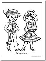 pareja extremeños - jugarycolorear1 1 1 Disney Characters, Fictional Characters, Aurora Sleeping Beauty, Disney Princess, Art, Children Outfits, Free Coloring Pages, Costumes, Colors