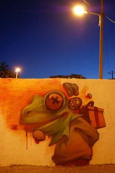 Foto: • ARTIST . SAINER •  ◦ Untitled ◦ location: Lagos, Portugal