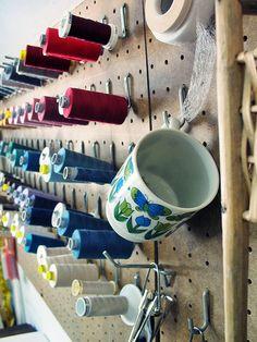 sewing room by peacefulbean ( goodkarma ), via Flickr