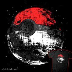 Pokéball + Death Star = Geeky! :D
