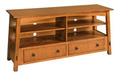 Amish Mission Open Tv Stand