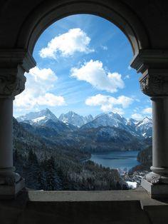 Neuschwanstein View by ~LiquidParaffin on deviantART