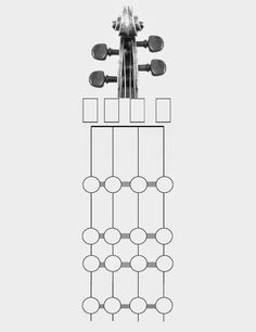 I like this fingering chart for string instruments!