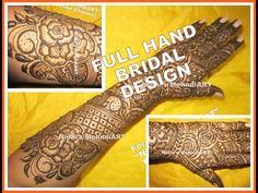 "YouTube full hand bridal Indian Pakistani traditional floral mehndi henna art design tutorial. Search ""Nidhi's MehndiART"" YouTube channel for all kind of mehndi henna design tutorial. #fashion #jewellery #trend #bridal #bride #wedding #marriage #festival #tradition #beautiful #girl #london #paris #canada #us #india #surat #ahmedabad #uk #arabic #floral #gulf #dubai #henna #mehndi #mehandi #art #drawing #tattoo #design"