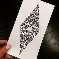 35 Spiritual Geometric Tattoo Designs - Shapes & Patterns