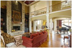 Tour Of Homes: Harrodsburg Chalet - Great Room | Tops in Lex | Kentucky