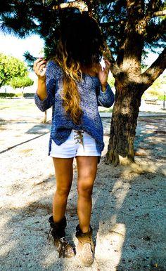 zara sweater, stradivarius jeans, attitude ibiza boots. 8/3/11