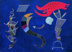 "Wassily Kandinsky - ""The Arrow"", 1943"