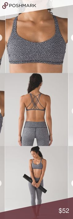 Lululemon 🍋   Free To Be Zen Bra EUC (Excellent Used Condition) - Only worn twice. Item looks brand new and in perfect condition. Absolutely no flaws, rips, or stains.  PADS INCLUDED  Size: 2  Frozen Fizz White Black  ✨ No trades. Reasonable Offers Welcome. ✨  No lowballing. Lowballers will be promptly shot 🔫  🚨ONLY LEAVING THIS LISTING UP FOR A SHORT TIME. IF YOU WANT IT, GRAB IT NOW!🚨  💵 Bundle To Save 💵 lululemon athletica Tops