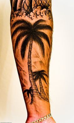 on the forearm