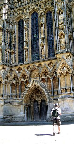 Wells Cathedral, Somerset, England, UK