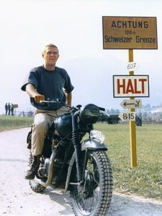 The Great Escape 1963 Directed by John Sturges Steve Mcqueen Fotografie-Druck
