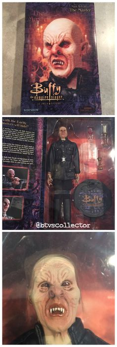 """Sideshow Collectibles (1:6 Scale) 12"""" Buffy the Vampire Slayer Figure - The Master. #btvscollector #btvs #buffy #buffythevampireslayer"""