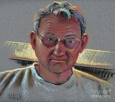 Dad 2007 Drawing by Donald Maier - Dad 2007 Fine Art Prints and Posters for Sale Sale Poster, Fine Art Prints, Dads, Wall Art, Drawings, Pastels, Fathers, Drawing, Paintings