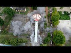 ViewTrakr Régi víztorony robbantása Lajosmizsén!
