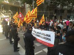 La CUP exigeix al rei que no torni a Girona