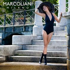 Happy Womens Day! Marcoliani celebrates with its black Charming Classic - come enjoy Como and its beauties! — with Gabriela Barros at Villa Olmo.