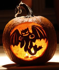 30 best cool creative scary halloween pumpkin carving designs ideas 2014 - Cool Halloween Carvings