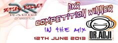 On Wednesday, 12th of June at 21:00 GMT (16:00 EST / 13:00 PST / 22:00 UTC+1 / GMT+1) on Urban City Radio 1 (urbancityradio.org/), the 8th episode of DKR Serial Killers Radio w/ DKR remix competition winner - DR. ADJI!!! JOIN US!!!