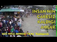 NEPAL DEPREMİ KAMERA GÖRÜNTÜLERİ