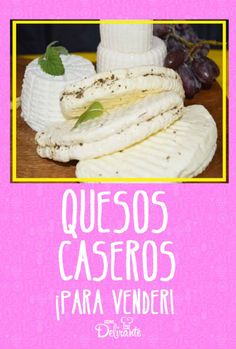 Queso Fresco Recipe, Queso Recipe, Queso Cheese, How To Make Cheese, Mexican Food Recipes, Camembert Cheese, Tapas, Catering, Food And Drink