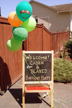 Teenage Mutant Ninja Turtles Birthday Party Ideas | Photo 29 of 50 | Catch My Party