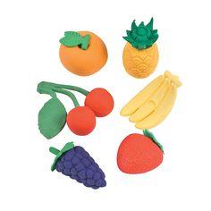 Fruit+Erasers+-+OrientalTrading.com