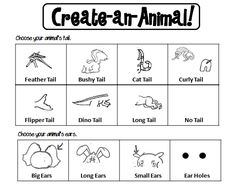 Animal Classification Activity Sheets - students create an animal and then classify it, being able to justify their classification. Animal Worksheets, 1st Grade Worksheets, Animal Activities, Kindergarten Worksheets, Science Activities, Summer Activities, Primary Science, Elementary Science, Physical Science