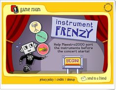 """""""Instrument Frenzy"""" (Instrumentos musicales en Educación Primaria) Privacy Policy, Game Room, Games, Primary Education, Teaching Resources, Music Instruments, Falling Down, Learning"""