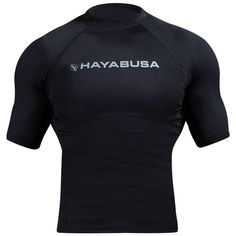 The Hayabusa Haburi Shortsleeve Rashguard is designed to fit and feel like a second skin, providing all of the benefits of performance compression wear. The design is a favorite for fans of shortsleeve compression tops. Optimized compression maximizes athletic performance Fully breathable with thermoregulating and wicking properties Professional athletic pattern for unmatched fit and comfort Highest quality stitching and craftsmanship