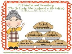 Articulation & Vocabulary: The Old Lady Who Swallowed a Pi