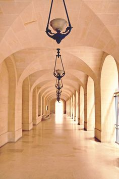 Romantic Paris Photograph of Parisian Corridor by Vita Nostra Photography