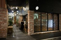 LOCARNO New Zealand Architecture Inspiration // milse restaurant by cheshire architects Architecture Design, New Zealand Architecture, Retail Architecture, Auckland, Magazine Design, Fresco, Restaurant Exterior Design, Cheshire, Bar Design Awards