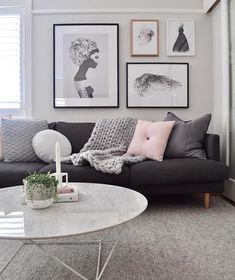 Living room goals courtesy of @nordic.interior.love