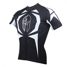 8a3de03a9 Paladin Breathable Black Mens Short Sleeve Cycling Jersey Tourist Design --  You can find out more details at the link of the image.Note It is affiliate  link ...