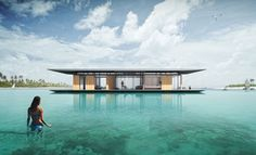 floating house Myitr Malcew H2ORIZON http://www.justluxe.com/lifestyle/luxury-yachts/feature-1952238.php