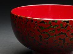 津軽塗 Tsugaru Lacquered bowl