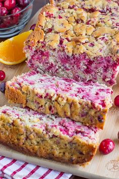 This Cranberry Orange Bread recipe is perfect for breakfast or a snack.
