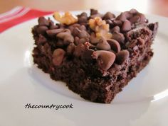 The Country Cook: Better than Brownies - super simple, only five ingredients and three of them are chocolate, how can it get any better than that!