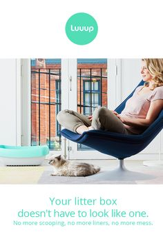 Luuup is unlike any litter box you've ever seen before. The pinnacle of style and function, Luuup will change the way you deal with cat litter forever.