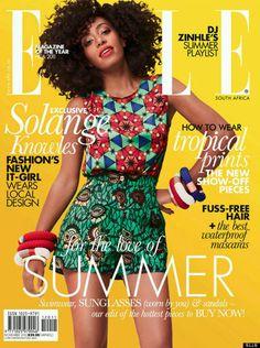 Solange Knowles   Elle South Africa November 2012