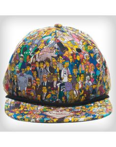 The Simpsons Character Snapback Hat #snapbacks #snapbax